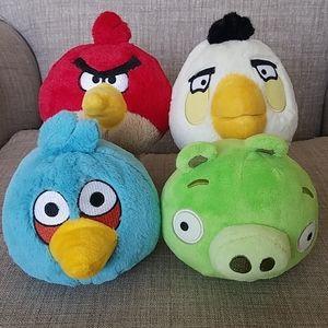 Angry Birds Plush Set